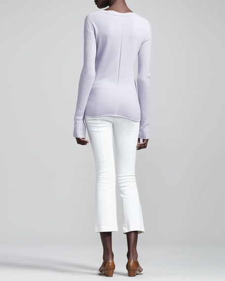 Cashmere Cable Sweater