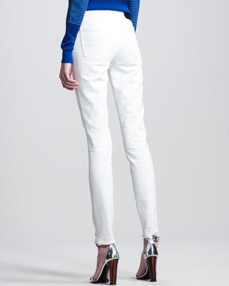 Skinny Creamy White Jeans