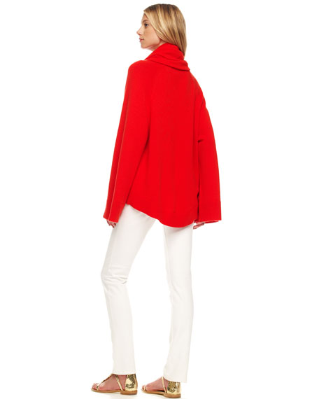 Arch-Hem Cashmere Sweater
