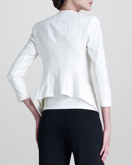 Matte Stretch Cardigan Jacket