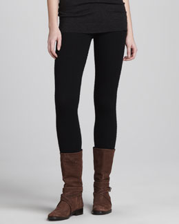 Donna Karan Cashmere Leggings, Black