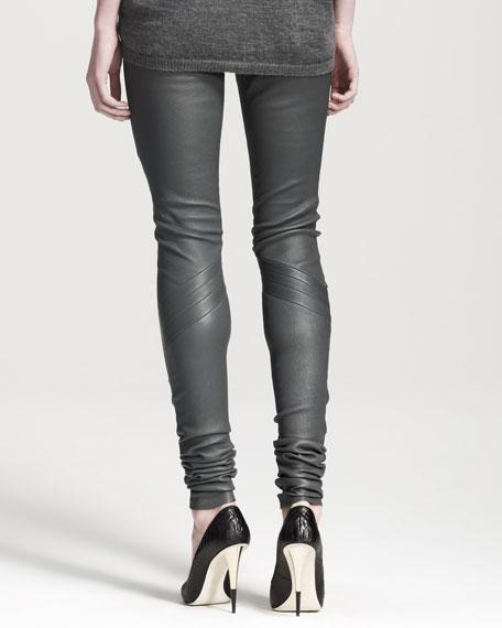Leather Biker Leggings