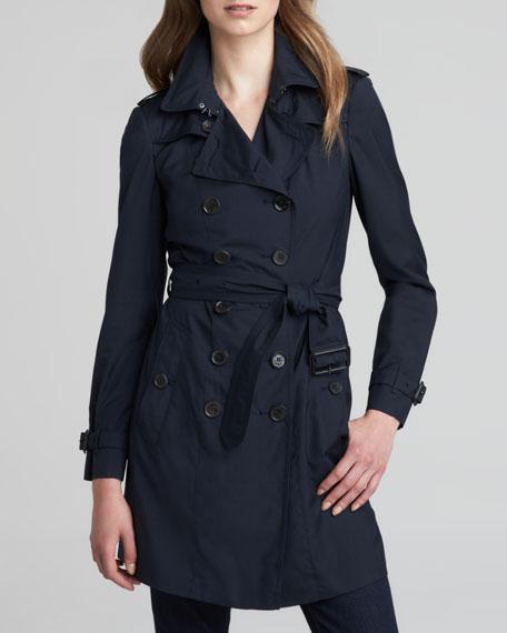 Wool-Silk Trenchcoat