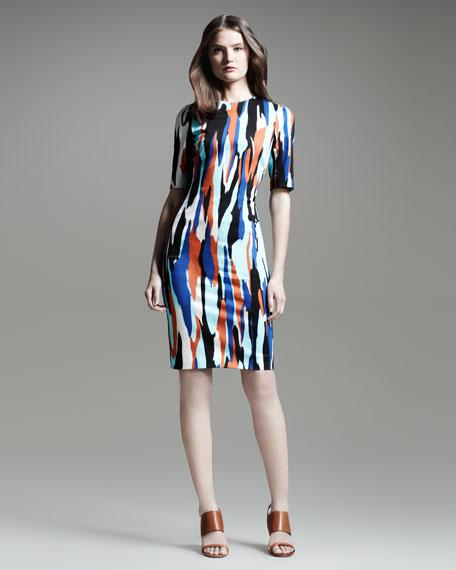 Raquel Printed Shift Dress