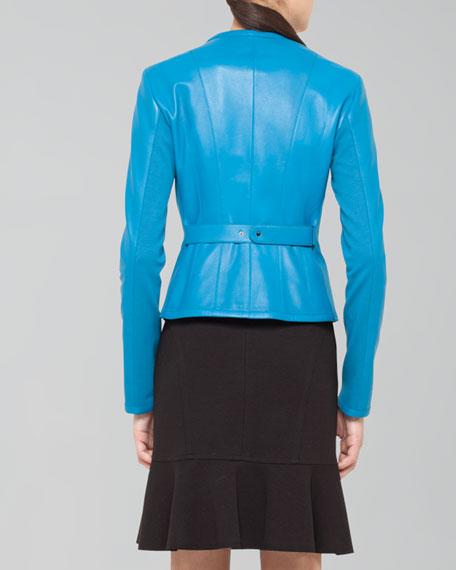 Dropped Godet Skirt