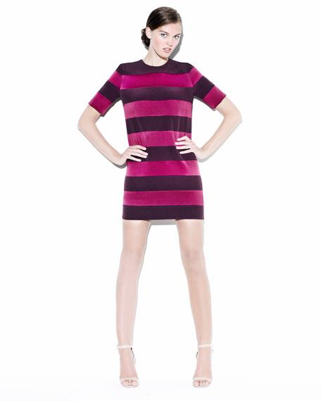 Combo Striped Tunic Dress