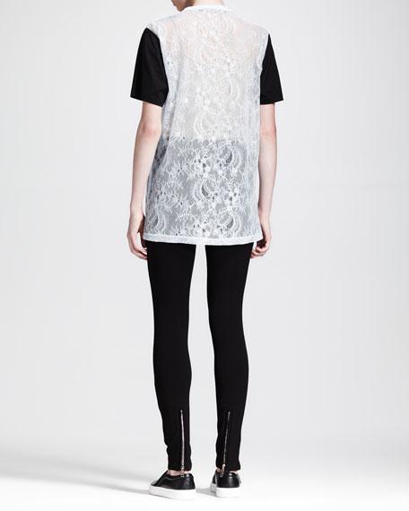 Lace Combo T-Shirt