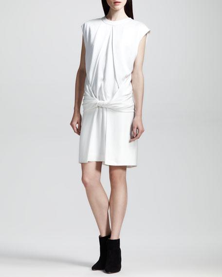 Twist-Front Muscle-Tee Dress