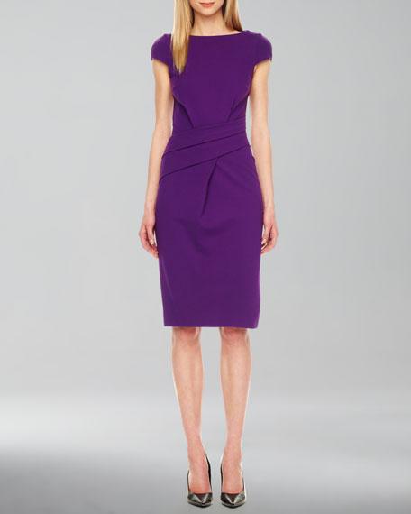 Michael Kors Wrap Waist Ponte Dress