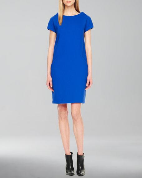 Boucle Shift Dress