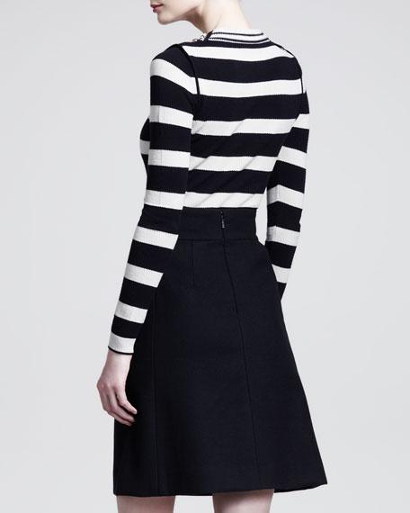 Flannel A-Line Skirt