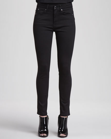 Jersey Side-Panel Jeans