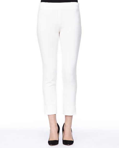 Catherine Cropped Pants, Ivory