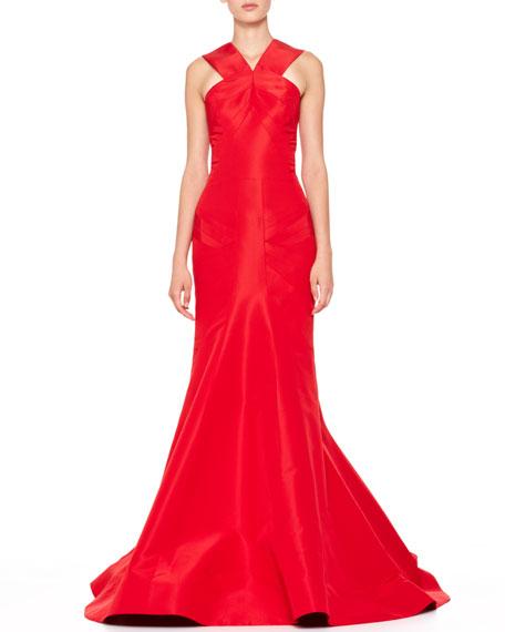 Silk Halter Gown, Grenadine