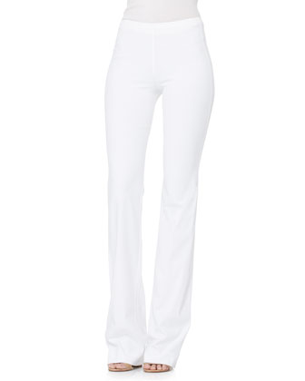 Boot-Cut Pull-On Pants