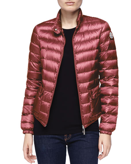 Zip-Up Puffer Jacket, Fuchsia