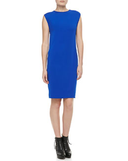 Acne Studios Sleeveless Slim Jersey Dress, Royal Blue
