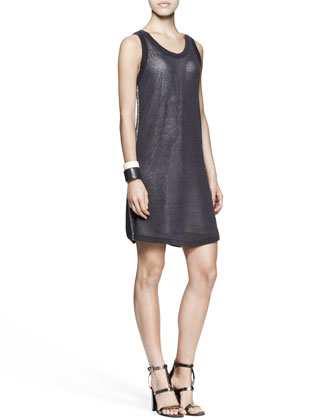 Monili-Side Tank Dress