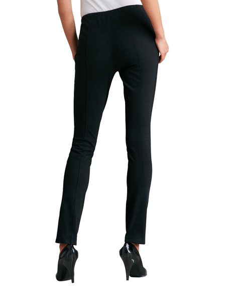 Seamed Leggings, Black