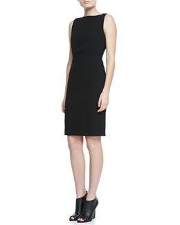 Burberry London Open-Back Sleeveless Dress