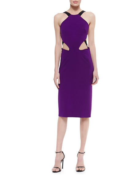Power Viscose Cutout Dress