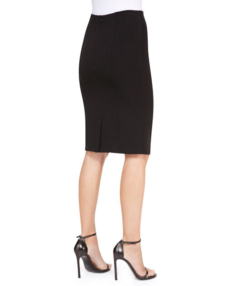 Danielle Pencil Skirt, Black