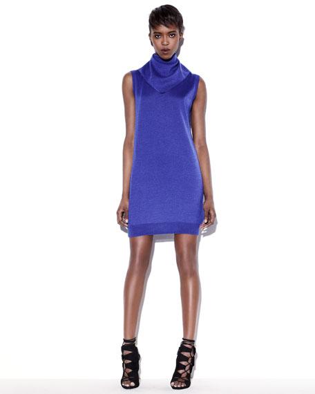 Bandana-Neck Tunic Dress