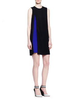Alexander Wang Two-Tone Double-Layer Dress
