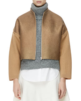 3.1 Phillip Lim Felted Wool Jacket, Dune