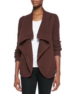 Rick Owens Butterfly Knit Wrap Sweater