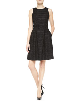 Armani Collezioni Sleeveless Full-Skirt Dress