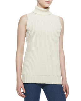 Michael Kors  Ribbed Knit Turtleneck