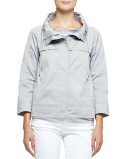 3/4-Sleeve Short Jacket