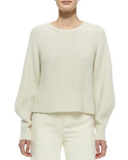 Cashmere/Silk Knit Sweater