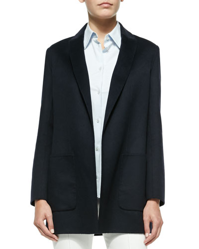 Oversize Wool Boyfriend Blazer