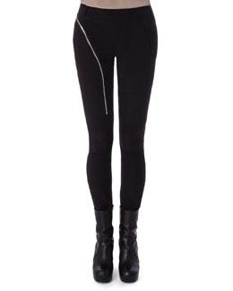 Aircut Moderate-Rise Leggings in Stretch Knit