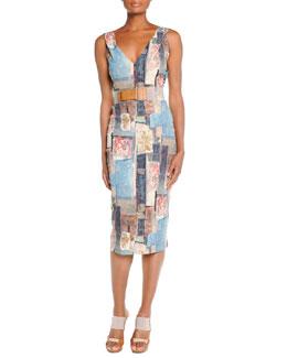 Stencil Patchwork Dress