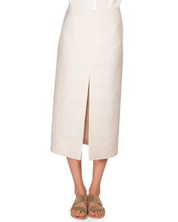Textured Cotton Lakima Skirt