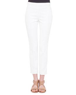 Franca Side-Hemstitch Pants