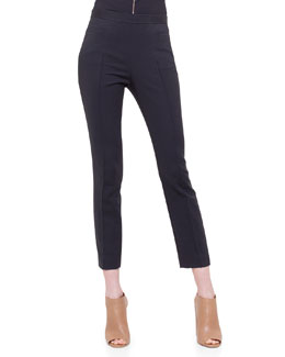 Franca Techno Cotton Ankle Pants
