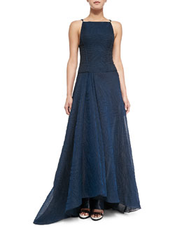 Organza Jacquard Ball Gown