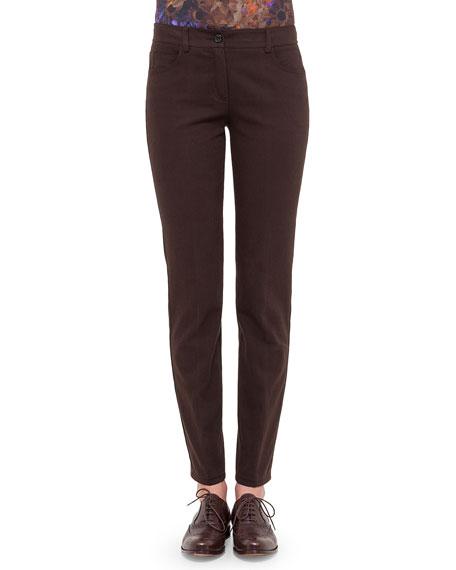 Magda Slim Denim Jeans, Cypress