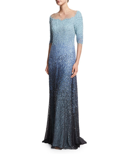 Designer Gowns : Mermaid &amp Lace Gowns at Bergdorf Goodman