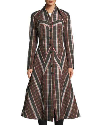 Treves Single-Breasted A-Line Dress Coat