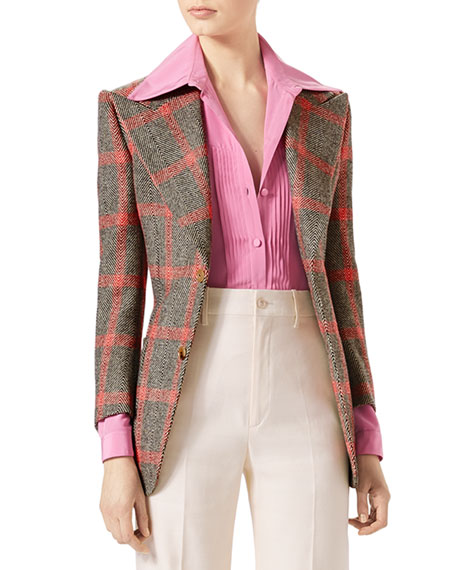 Hollywood Forever Check Jacket