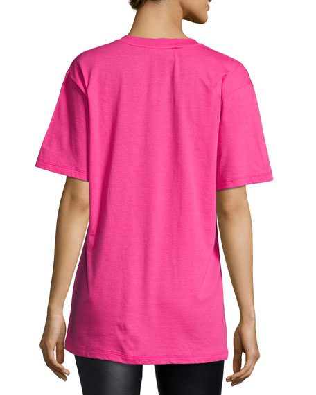 Short-Sleeve Logo Cotton Tee