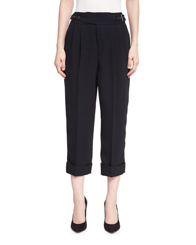 Cropped Heavy Twill Pants