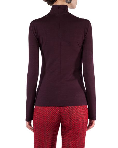 Stretch-Modal Turtleneck Sweater