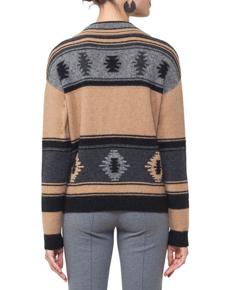 Southwestern Pullover Sweater
