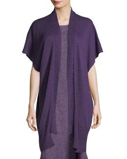 Knit Linen-Blend Tabard